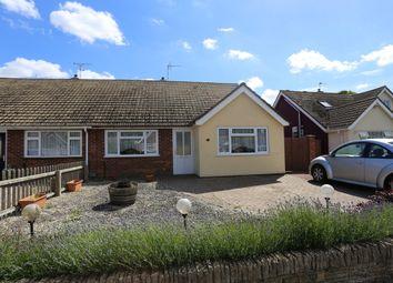 Thumbnail 2 bed semi-detached bungalow for sale in Haven Close, Felixstowe