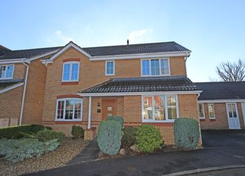 Thumbnail 4 bed detached house for sale in Stuart Crescent, Cullompton, Devon