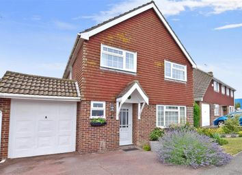 Thumbnail 4 bed link-detached house for sale in Lucy Avenue, Folkestone, Kent