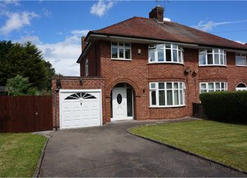 Thumbnail 3 bed semi-detached house for sale in Hoylake Road, Moreton