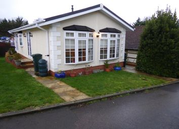 Thumbnail 2 bed mobile/park home for sale in Newlands Park, Bedmon Road, Abbots Langley