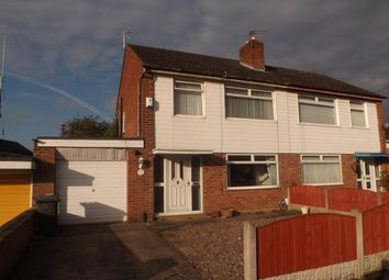 Thumbnail 3 bed semi-detached house for sale in Cliftonville Road, Woolston, Warrington, Cheshire