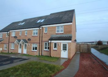 Thumbnail 3 bed end terrace house for sale in Wilkie Drive, Motherwell, North Lanarkshire