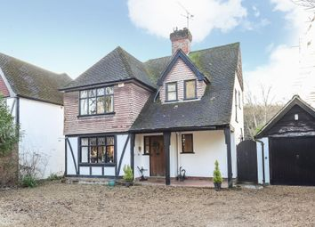 Thumbnail 3 bed detached house for sale in Woodham, Woking