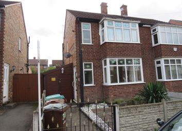 Thumbnail 2 bed semi-detached house for sale in Brora Road, Bulwell, Nottingham