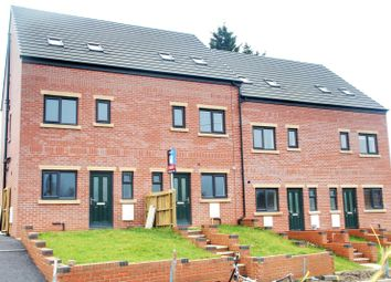Thumbnail 4 bed terraced house for sale in Plots 2 - 11, Infield Lane, High Hazels, Sheffield