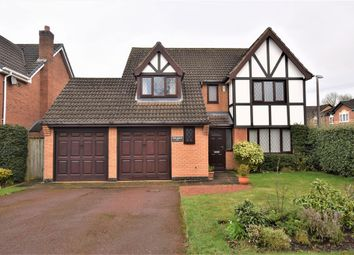 Thumbnail 5 bed detached house for sale in Althorpe Drive, Dorridge, Solihull