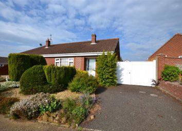 Thumbnail 2 bedroom semi-detached bungalow for sale in Mountbatten Road, Dersingham, King's Lynn