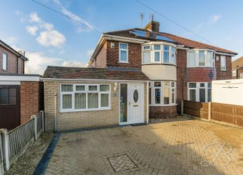 Thumbnail 3 bed semi-detached house for sale in Meden Road, Mansfield Woodhouse, Mansfield