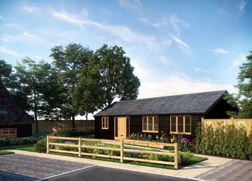 Bader Lodge, Chiddingstone Causeway, Kent TN11. 2 bed detached bungalow for sale