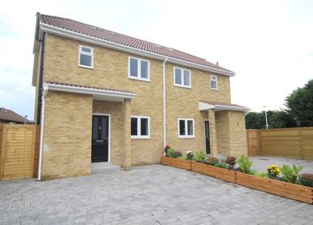 Thumbnail 4 bed semi-detached house for sale in School Lane, Egham, Surrey