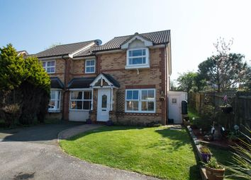 Thumbnail 3 bedroom end terrace house for sale in Beechfield Close, Stone Cross, Pevensey