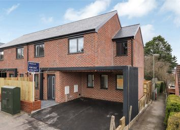 Thumbnail 3 bedroom semi-detached house for sale in Winnall Manor Road, Winchester, Hampshire