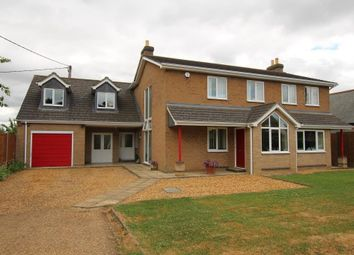 Thumbnail 4 bedroom detached house for sale in High Street, Aldreth, Ely