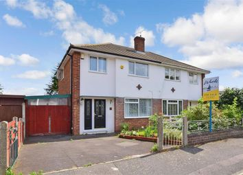 Thumbnail 3 bedroom semi-detached house for sale in Trewin Close, Aylesford, Kent