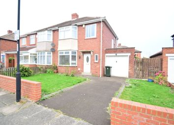 Thumbnail 3 bed semi-detached house to rent in Saxton Grove, High Heaton