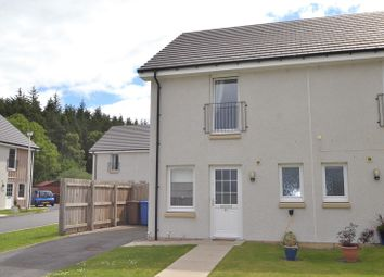 Thumbnail 2 bed semi-detached house for sale in 84 Larchwood Drive, Milton Of Leys, Inverness
