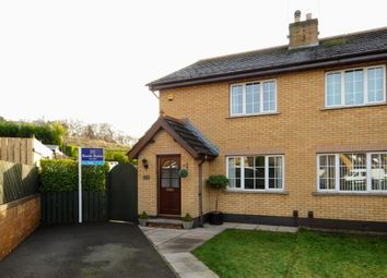 Thumbnail 3 bed semi-detached house for sale in Old Mill Meadows, Dundonald, Belfast