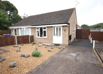 Thumbnail 2 bedroom semi-detached bungalow for sale in Cromer Close, Mickleover, Derby
