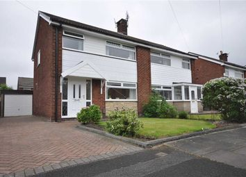 Thumbnail 3 bed semi-detached house for sale in Broadfield Close, Denton, Manchester, Greater Manchester