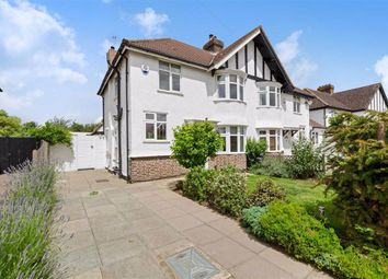 Thumbnail 3 bed semi-detached house for sale in Woodhurst Avenue, Petts Wood, Kent