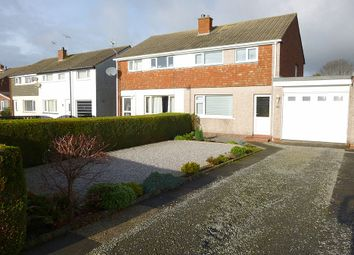Thumbnail 3 bed semi-detached house for sale in Whinny Rig, Heathhall, Dumfries
