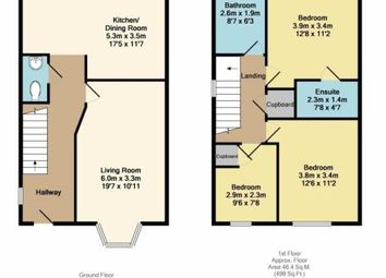Thumbnail 3 bed semi-detached house for sale in The Siding, Clowne, Chesterfield, Derbyshire
