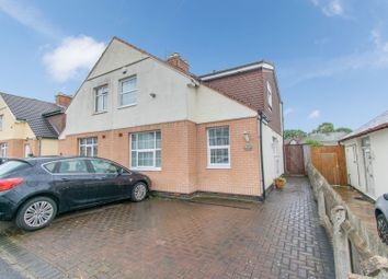 Thumbnail 3 bed semi-detached house for sale in Litelmede, Leicester