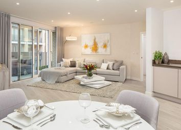 "Thumbnail 3 bedroom flat for sale in ""Eider Apartments"" at Meadowlark House, Moorhen Drive, Hendon, London"
