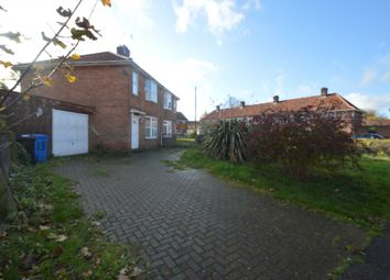 Thumbnail 3 bed semi-detached house for sale in Horning Close, Norwich