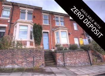 Thumbnail 4 bed terraced house to rent in Springbank Road, Sandyford, Newcastle Upon Tyne