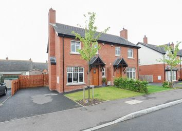 Thumbnail 3 bed semi-detached house for sale in Coopers Mill Heights, Dundonald, Belfast
