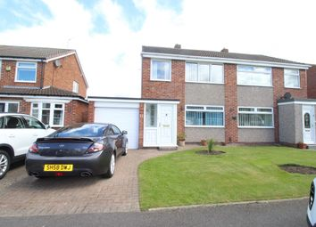 Thumbnail 3 bed semi-detached house for sale in Keilder Rise, Hemlington, Middlesbrough