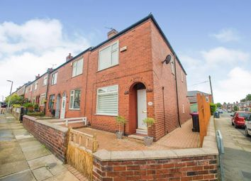 Thumbnail 2 bed end terrace house for sale in Cemetery Road South, Swinton, Manchester, Greater Manchester