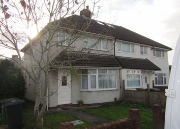 Thumbnail 3 bed semi-detached house to rent in Albion Terrace, The Common, Patchway, Bristol