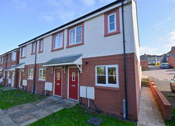 Thumbnail 2 bed end terrace house for sale in Kirkstone Close, Workington