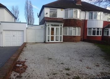 Thumbnail 3 bed property to rent in Westwood Road, Sutton Coldfield