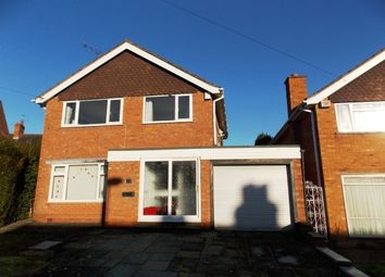 Thumbnail 3 bed detached house to rent in Lodge Hill Road, Selly Oak