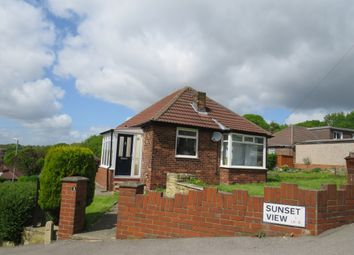 Thumbnail 2 bed detached bungalow for sale in Sunset View, Meanwood, Leeds