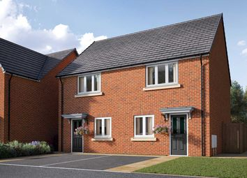 "Thumbnail 2 bed semi-detached house for sale in ""The Harcourt"" at Poppy Drive, Sowerby, Thirsk"