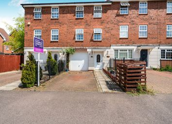 Thumbnail 3 bed town house for sale in Palmer Crescent, Leighton Buzzard
