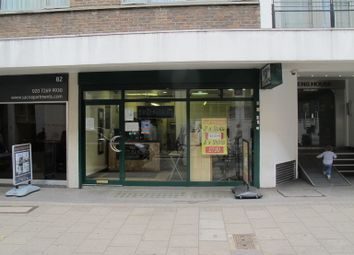 Thumbnail Retail premises to let in Lambs Conduit Street, London