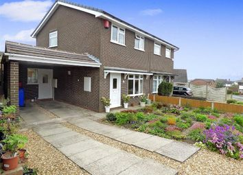 Thumbnail 3 bedroom property for sale in Worth Close, Meir Hay, Stoke-On-Trent