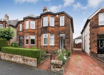 Thumbnail 3 bed semi-detached house for sale in Dunbeth Avenue, Coatbridge, North Lanarkshire, United Kingdom