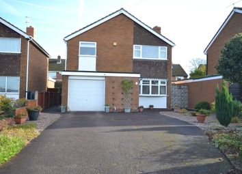 Thumbnail 3 bed detached house for sale in Greenock Close, Newcastle-Under-Lyme