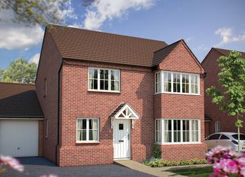 "Thumbnail 4 bed detached house for sale in ""The Canterbury"" at Main Street, Tingewick, Buckingham"