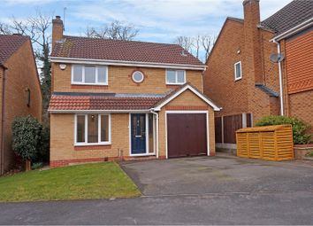 Thumbnail 4 bed detached house for sale in Rowbank Way, Loughborough