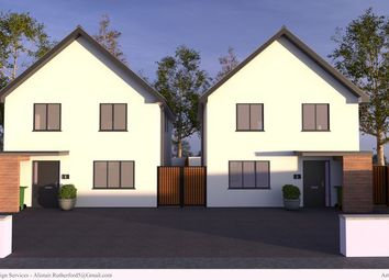 Thumbnail 4 bed detached house for sale in Station Road, Grampound Road, Truro