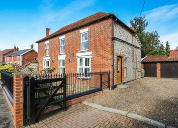 Thumbnail 5 bed detached house for sale in The Street, Bridgham, Norwich, Norfolk