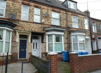 Thumbnail 4 bed terraced house for sale in Queens Road, Hull